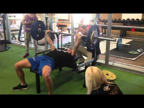 Fitness5 kevad 2015- Bench Press 72,5kg