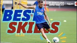 ONLY FOR FOOTBALLERS | Barça demonstrate their Japanese skills