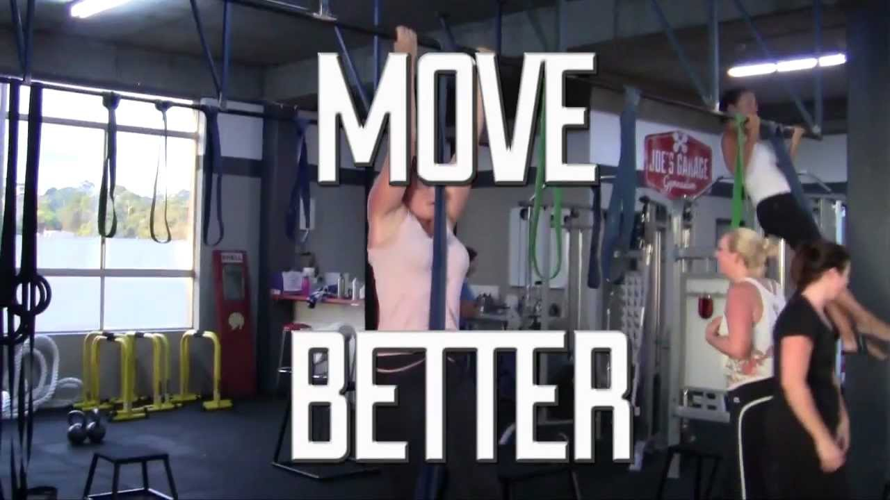 Joes garage gym youtube