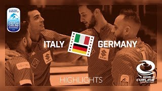 HIGHLIGHTS: Italy v Germany - Men Bronze - Le Gruyère AOP European Curling Championships 2018