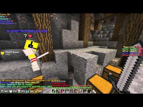 Minecraft: Hypixel Server! - Episode 54 - Mega Walls TUTORIAL