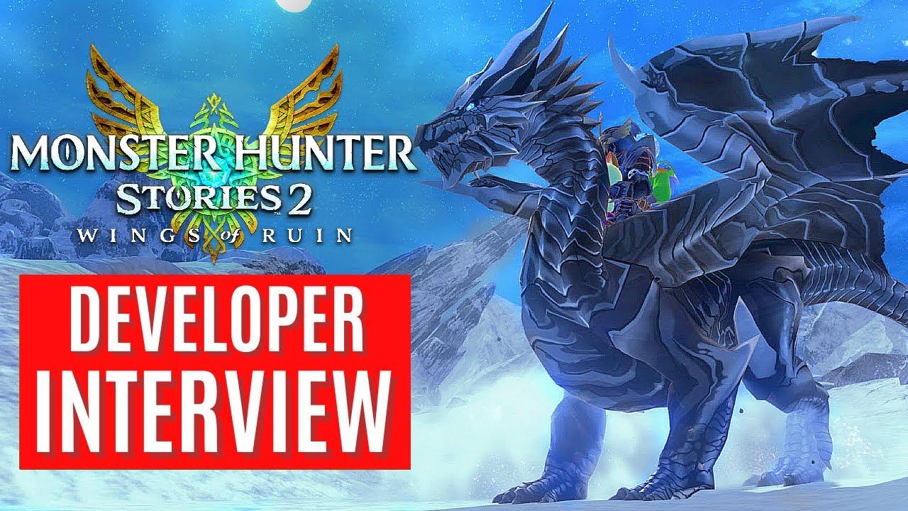 Monster Hunter Stories 2 DEVELOPER INTERVIEW GAMEPLAY TRAILER NEWS NEW MONSTERS モンスターハンターストーリーズ2