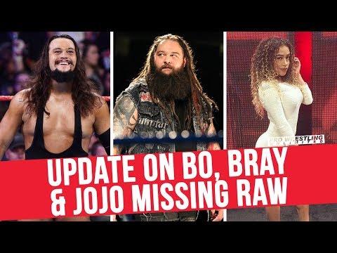 Update On Bo Dallas, Bray Wyatt & JoJo Missing RAW