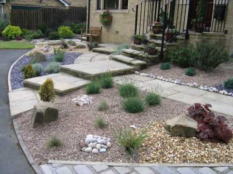 Small Front Garden Design With Gravel