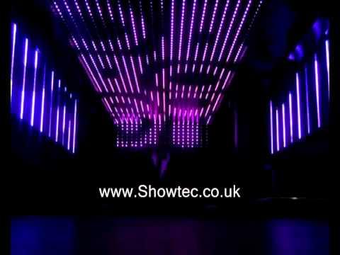 Led Ceiling Box Bar Revenge Brighton Showtec Lighting Installation Youtube