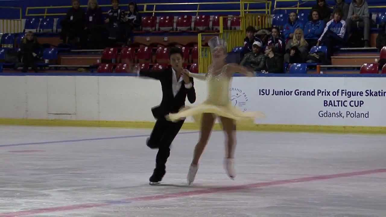 18 B. DELMAESTRO / T. LUM (CAN) - ISU JGP Baltic Cup 2013 Junior Ice Dance Short Dance