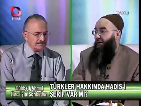 Cübbeli ahmet hoca Türkler hakkinda Ayet ve Hadisleri açıklıyor www.akcakesetv.net.tc