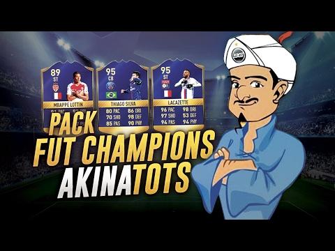 FIFA 17 - PACKS FUT CHAMPIONS TOTS L1 - AKINATOTS !