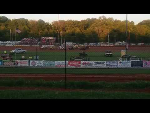 USAC Sprint Car C Main  Bloomington Speedway