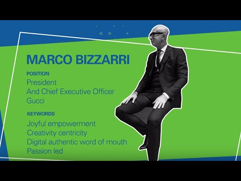 Executive Chat With Marco Bizzarri, President And CEO Of Gucci
