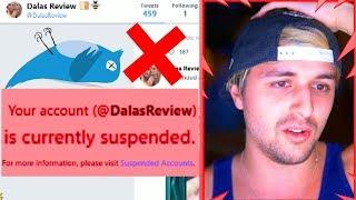 Me suspendieron mi cuenta de Twitter por lo mas injusto