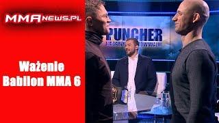 Wazenie Babilon MMA 6: Pawlak vs Skibinski - Na żywo