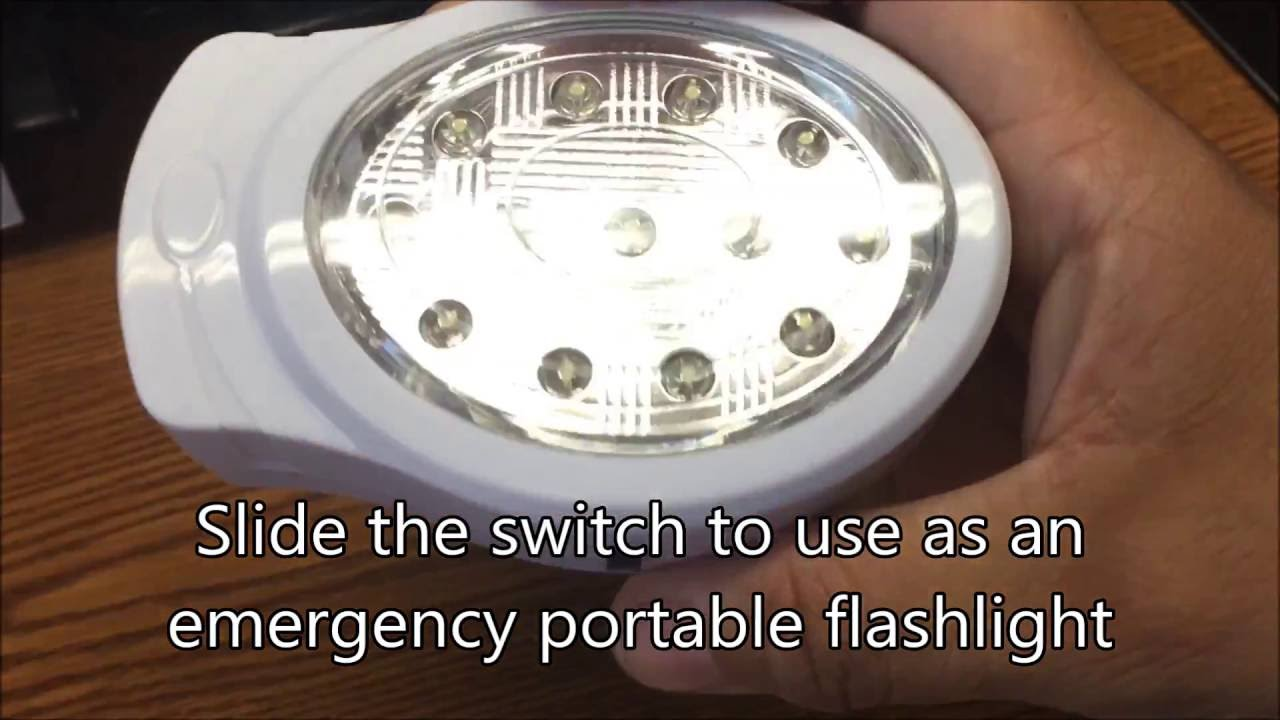 Emergency Automatic Power Failure Outage Rechargeable 13 LED Light ...