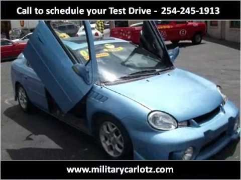 2001 plymouth neon used cars killeen tx youtube. Black Bedroom Furniture Sets. Home Design Ideas