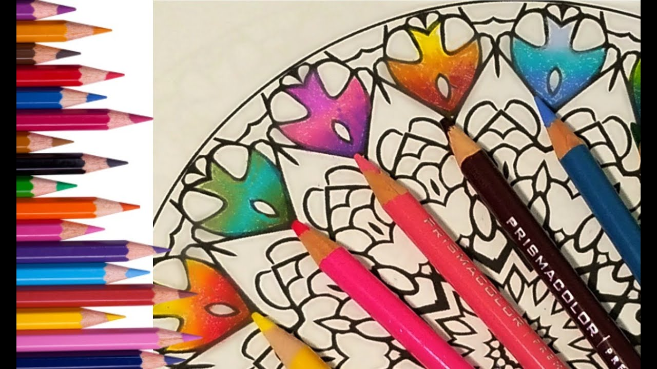 The Best Prismacolor Pencil Combinations With Numbers 1 Youtube