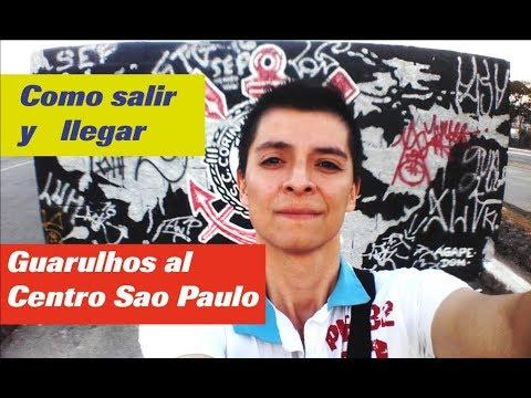 Como salir del Aeropuerto Guarulhos al centro de Sao Paulo