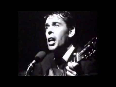JACQUES BREL -  '' Le Plat Pays''-Madeleine'' Olympia''-1966