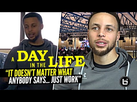 "Steph Curry Has a MESSAGE! ""It Doesn't Matter What They Say"" 