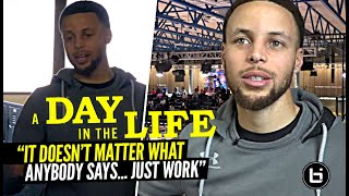 Steph Curry Is Paving The Way For All Underrated Players | Day In The Life w/ Steph