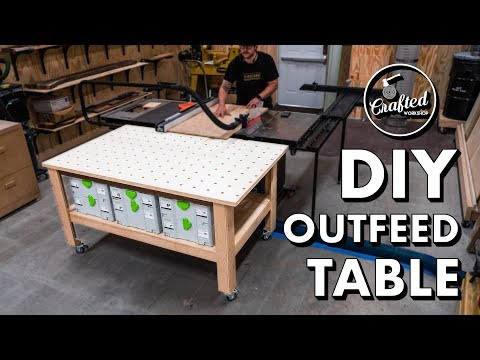 DIY MFT-Style Outfeed Table, Assembly Table & Workbench // How To Build