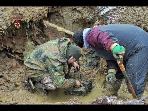 Коп по войне   Редкая находка в немецком блиндаже very rare find  Searching with Metal Detector