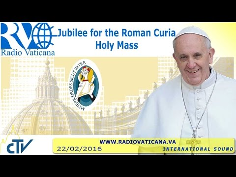 Jubilee for the Roman Curia - 2016.02.22