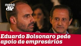 Na Fiesp, Eduardo Bolsonaro pede apoio de empresários à aprovação para embaixada