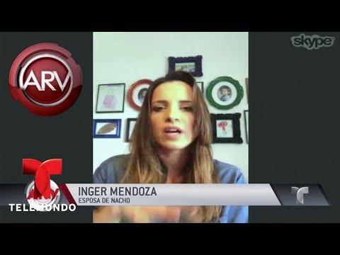 Esposa De Nacho Revela Cómo Está El Cantante   Al Rojo Vivo   Telemundo