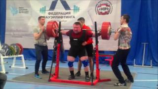 Andrianov Sergey RAW total 850kg@125kg(, 2017-04-29T07:46:51.000Z)