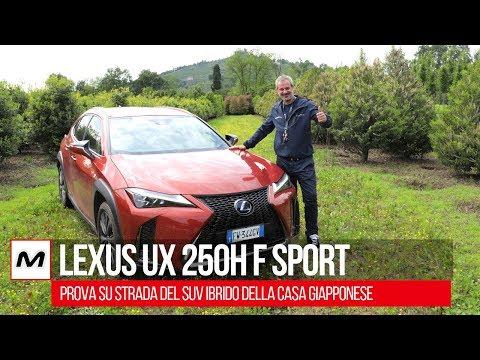 Lexus Ux 250h F Sport - Prova su strada del SUV ibrido