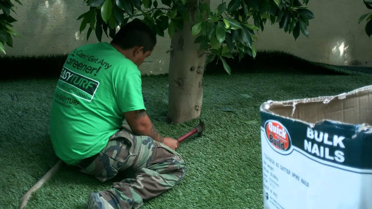 Backyard Turf Installation : Artificial Turf Installation  Backyard  Rancho Santa Margarita, CA