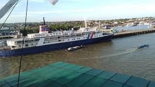 Download Saat Berangkatnya kapal lambelu dari pelabuhan nunukan dan menuju ke arah yg ingin di tuju