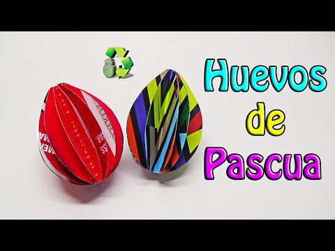 96 manualidades huevos de pascua decorativos reciclaje for Manualidades pascua
