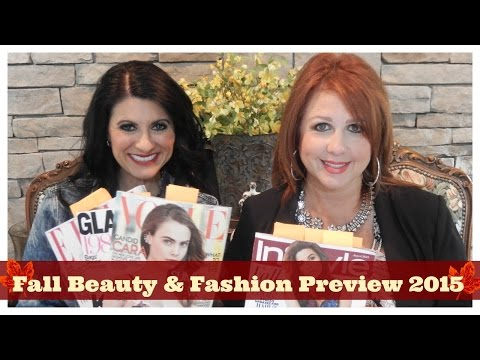 Fall Beauty & Fashion Preview 2015 | The 2 Orchids