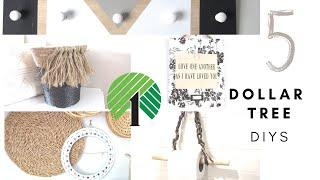 Functional $1 Decor Ideas   Dollar Tree Home Decor Crafts   Modern Farmhouse Decor Diys