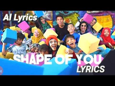 Shape Of You - Gen Halilintar (Official Video Lyrics)