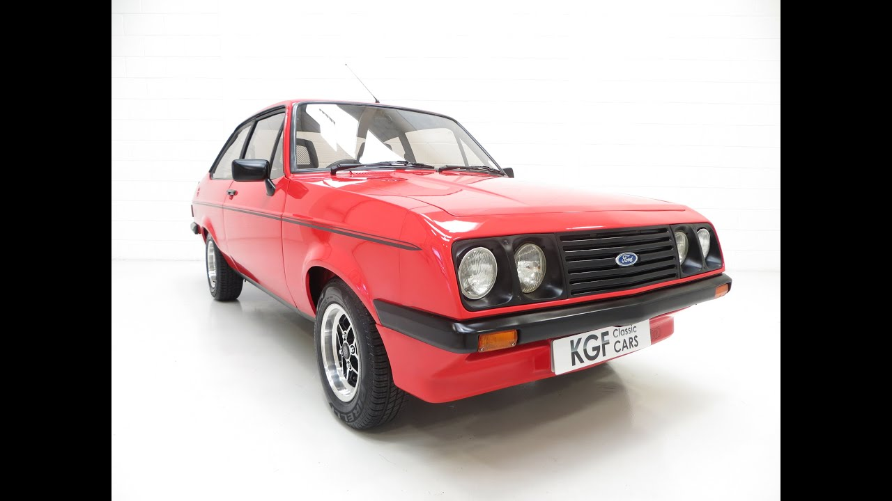 9da3309131 An Iconic Ford Escort Mk2 RS2000 Custom in Immaculate Show Condition -  SOLD! - YouTube