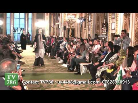 London Pakistan Fashion Week at the Lancaster House A celebration of 70 years of Pakistani Independe