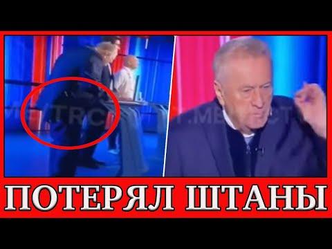 Владимир Жириновский потерял штаны во время дебатов на телевидении, но продолжил свою речь