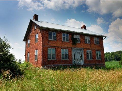 Urbex abandoned georgian style farmhouse youtube - What is farmhouse style ...
