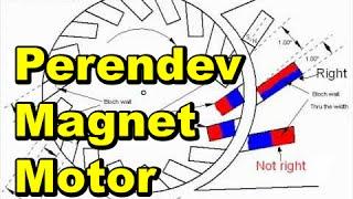 Perendev Magnet Motor Patent - Free Download