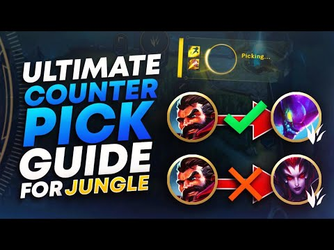 ULTIMATE JUNGLE COUNTER PICKING GUIDE (SEASON 10) | League Of Legends