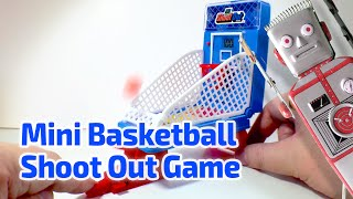 1998 mini basketball shoot out arcade game by basic fun
