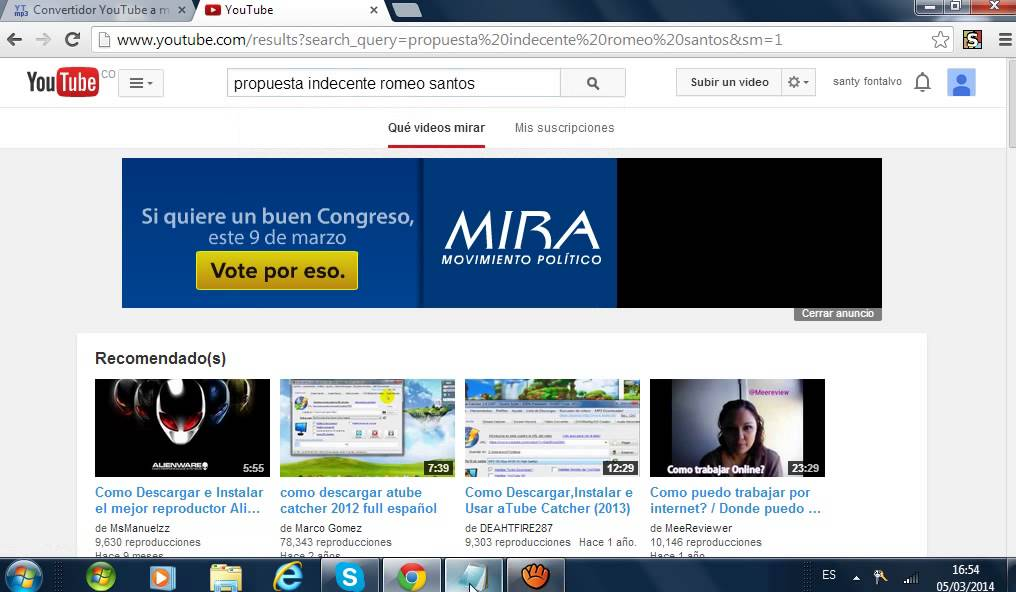 como convertir un video de youtube a cancion mp3 - YouTube