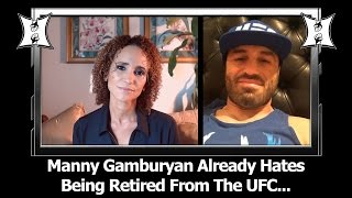 Manny Gamburyan Already Hates Being Retired. Talks UFC + WEC Highlights, Ronda Rousey's Rise
