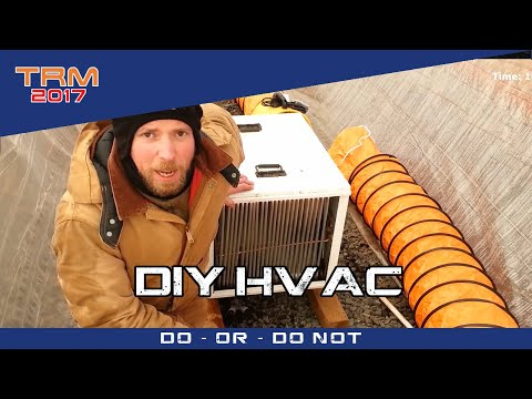 Low Cost DIY HVAC Part 3 of 6 - Macgyver eat your heart out - SOL 547.2