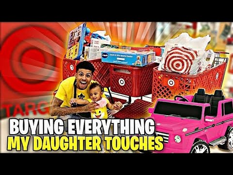 BUYING EVERYTHING MY DAUGHTER TOUCHES!!? 😱😅(Target Edition🥳)