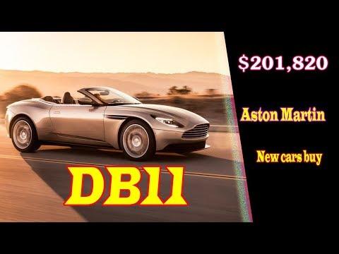 Aston Martin Db11 Amr 2019 639 Hp 334 Km H Max Speed
