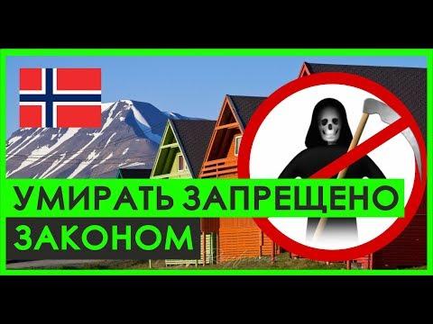 Почему в Лонгйир в Норвегии НЕЛЬЗЯ УМИРАТЬ?   Арктика