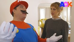 SUPER MARIO AS A REAL LIFE PLUMBER